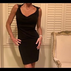 Gucci black bamboo dress